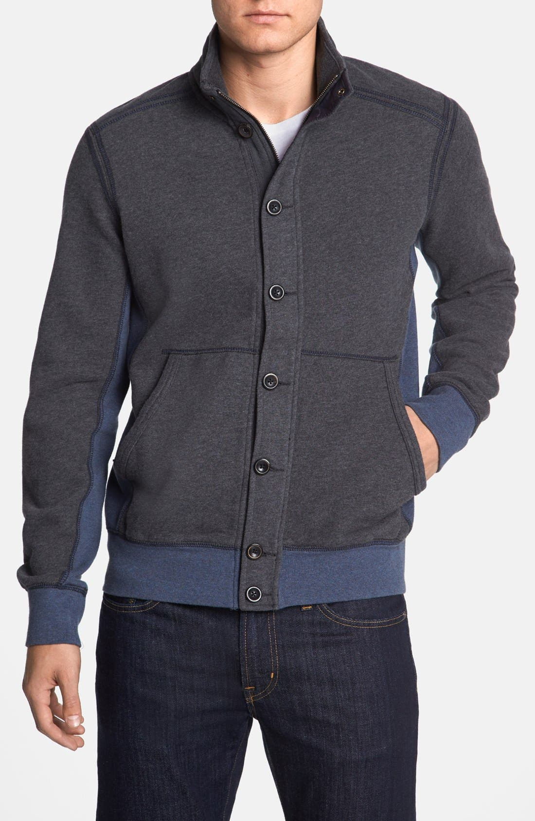 Alternate Image 1 Selected - Tommy Bahama Denim 'Explorer' Island Modern Fit Sweatshirt