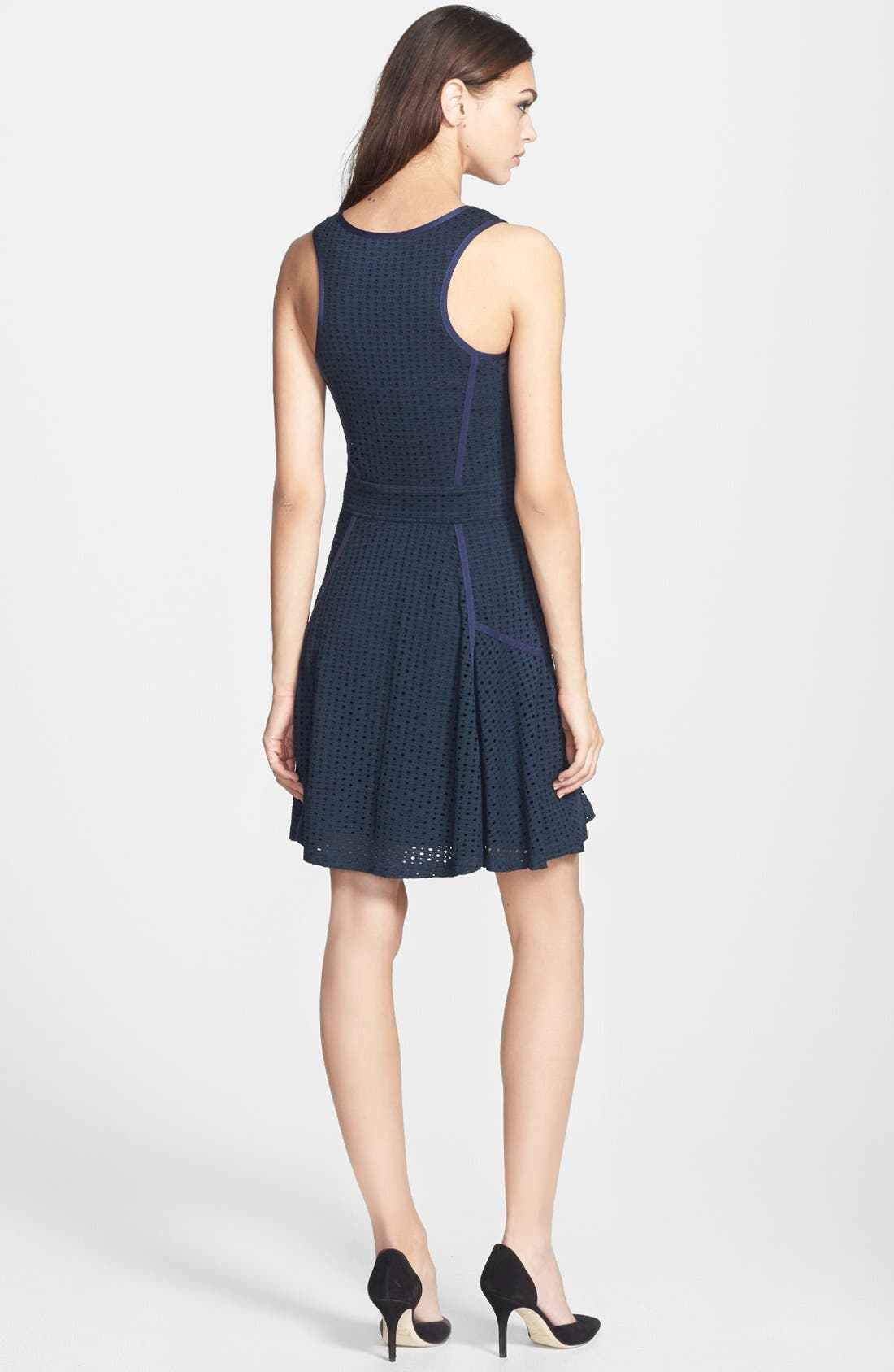 Alternate Image 2  - MARC BY MARC JACOBS 'Emi' Pointelle Fit & Flare Dress