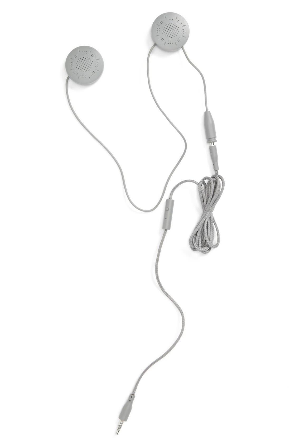 Alternate Image 2  - U|R Eyelet Stripe Knit Tech Hat