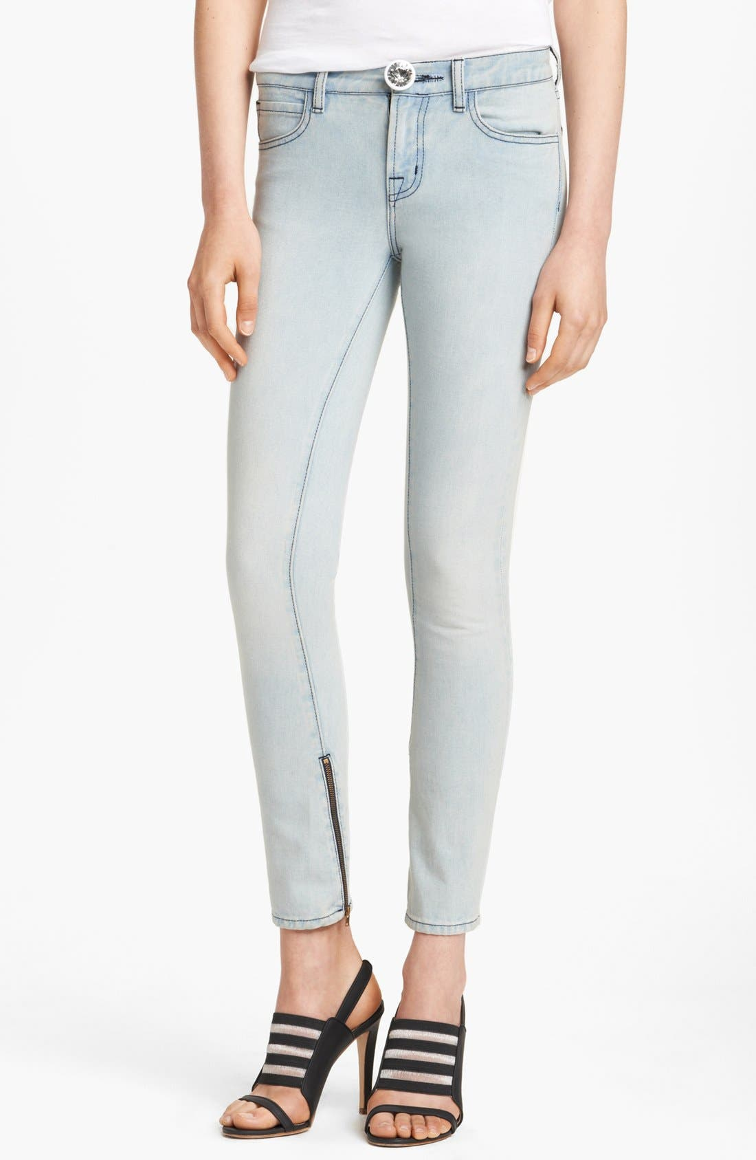 Alternate Image 1 Selected - Christopher Kane Stretch Skinny Jeans