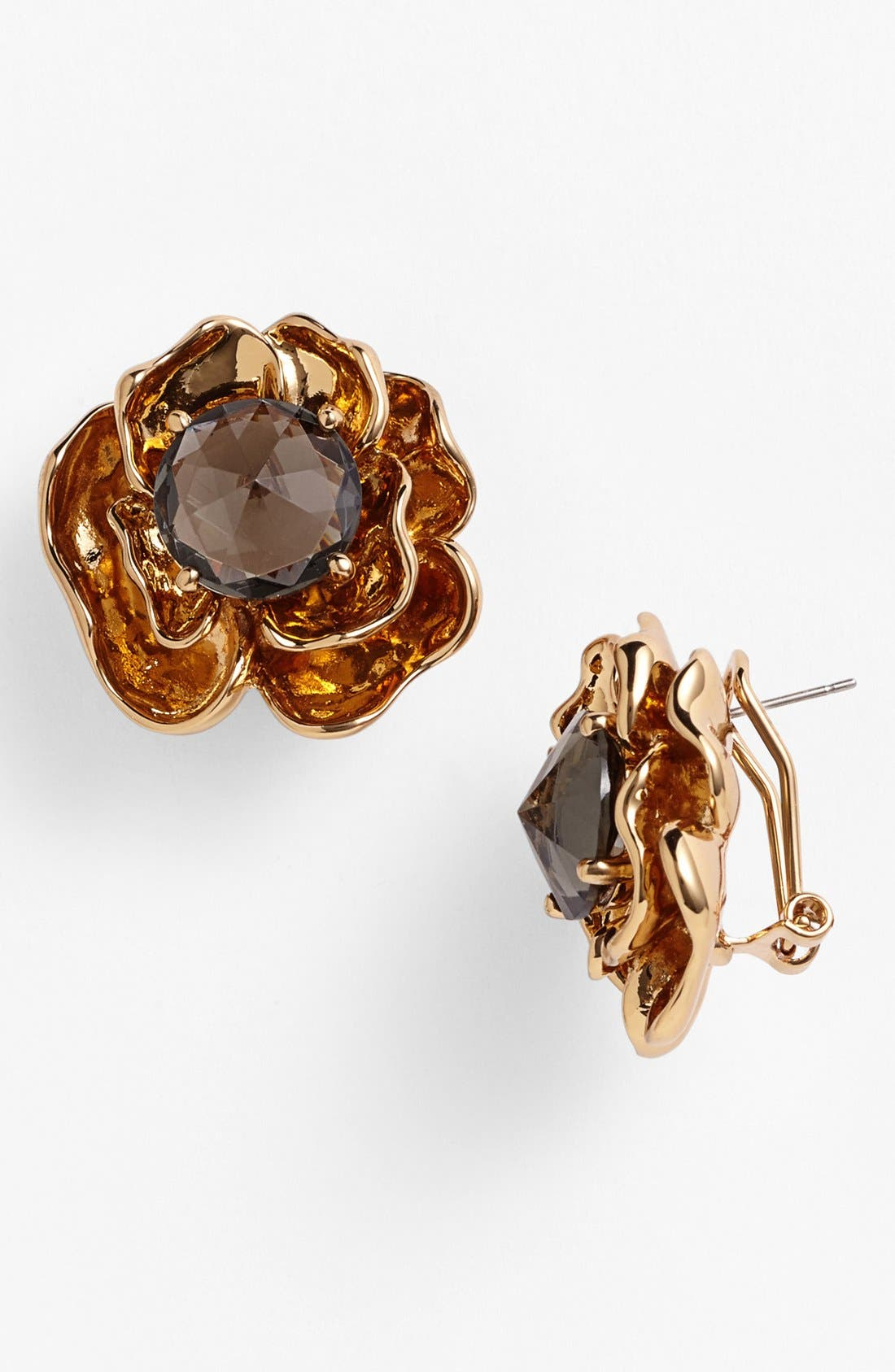 Main Image - Tory Burch 'Crystal Rose' Stud Earrings
