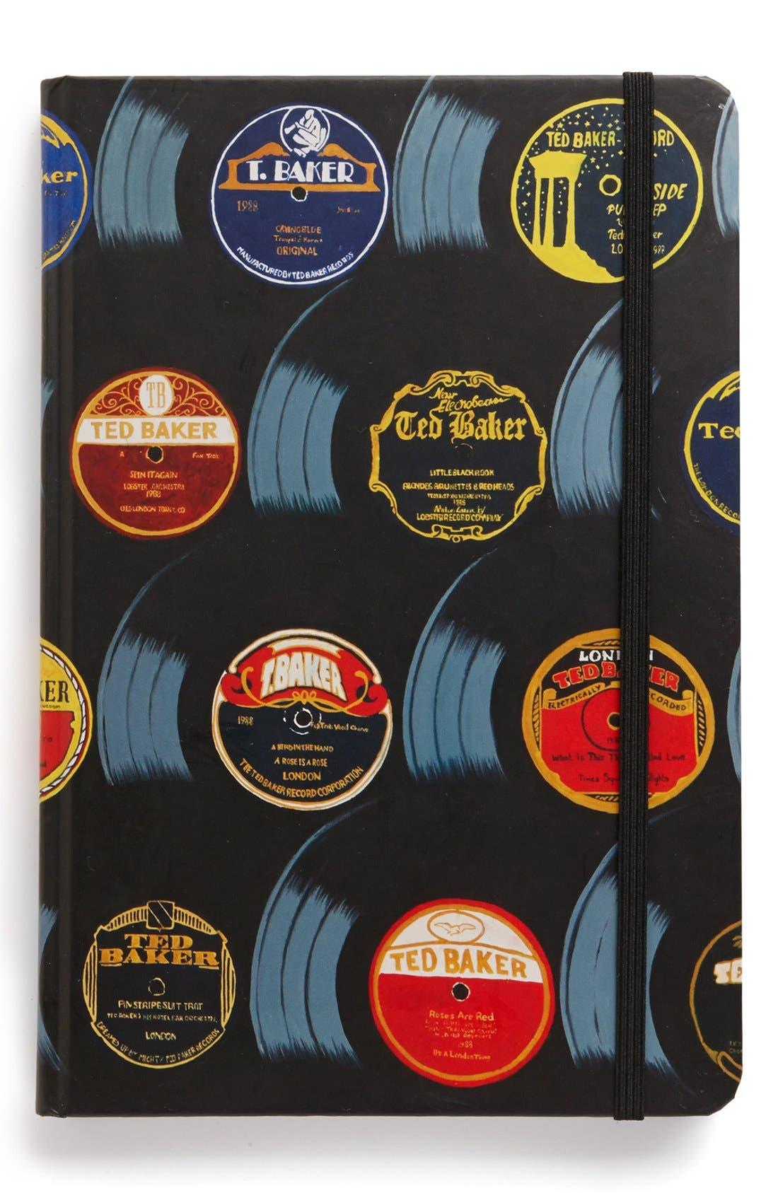 Alternate Image 1 Selected - Ted Baker London 'Vinyl Record' Notebook