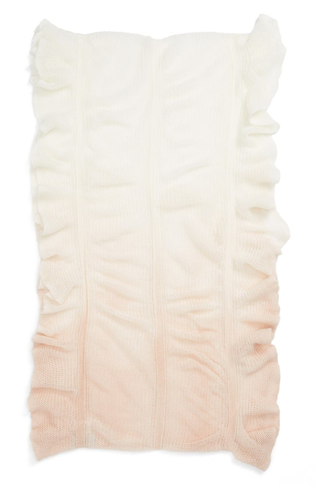 Alternate Image 2  - The Accessory Collective Ruffle Ombré Scarf (Girls)