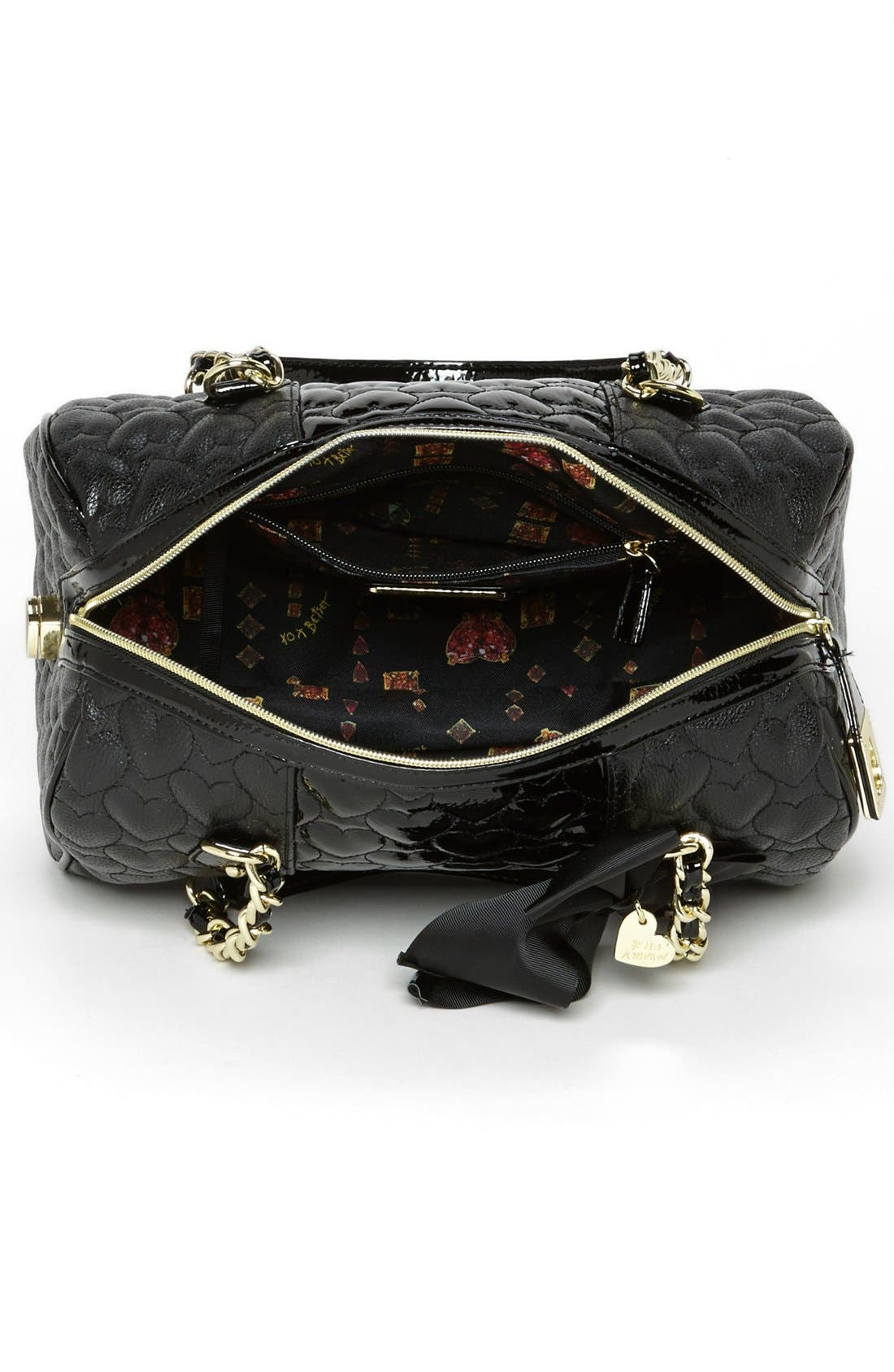 Alternate Image 3  - Betsey Johnson 'Be My Wonderful' Satchel