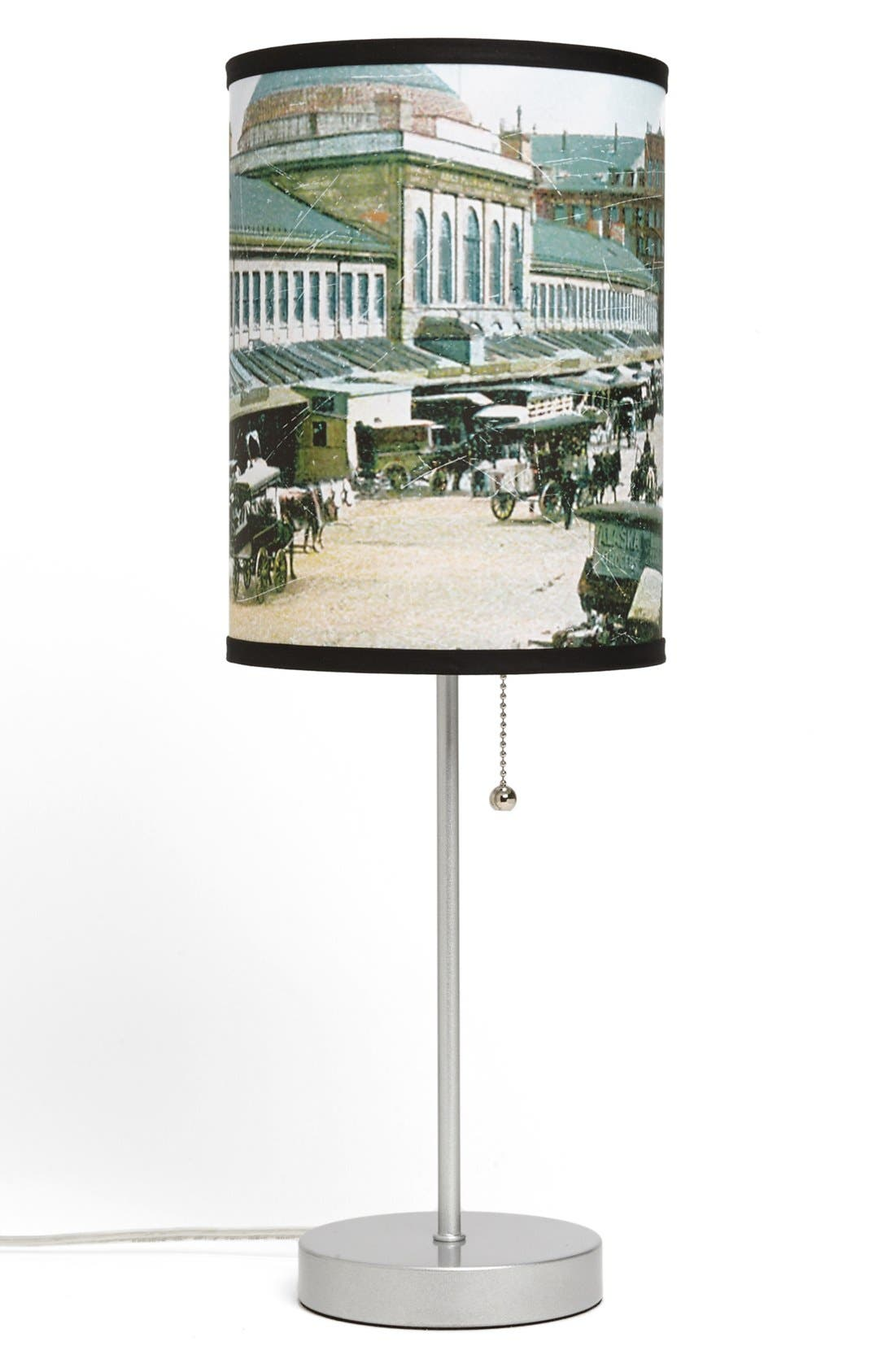 Alternate Image 1 Selected - LAMP-IN-A-BOX 'Boston Market District' Postcard Print Lamp