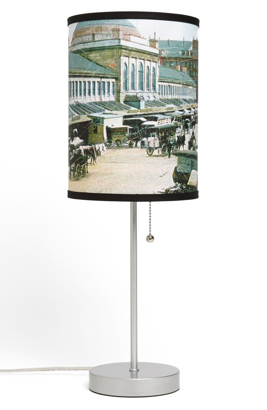 Main Image - LAMP-IN-A-BOX 'Boston Market District' Postcard Print Lamp