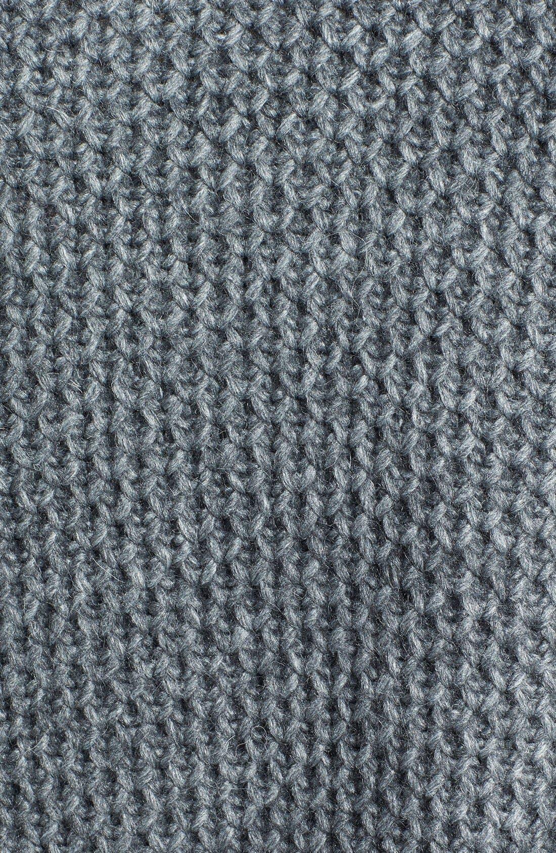 Alternate Image 3  - maje 'Document' Marled Open Front Cardigan
