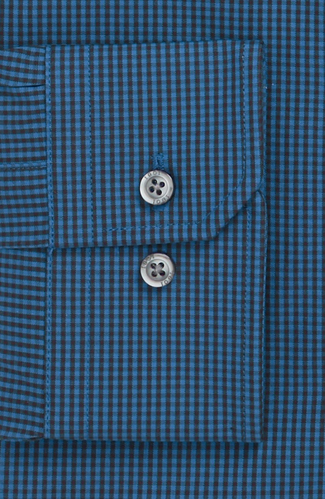 Alternate Image 2  - 1901 Slim Fit Check Dress Shirt