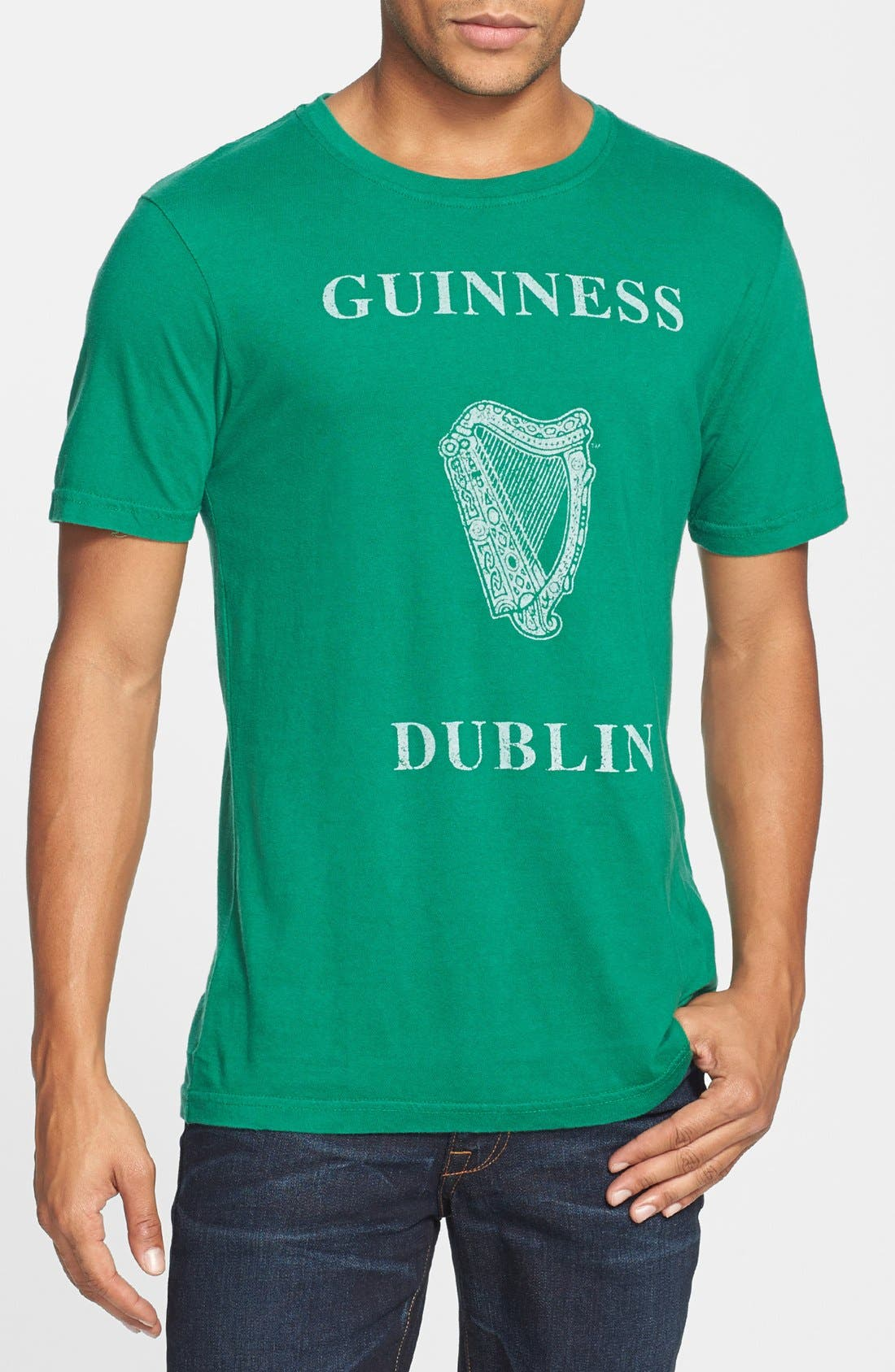 Alternate Image 1 Selected - Red Jacket 'Brass Tacks - Guinness' Cotton T-Shirt