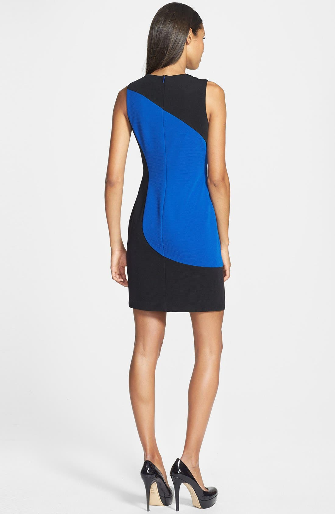 Alternate Image 2  - Marc New York by Andrew Marc Colorblock Ponte Sheath Dress