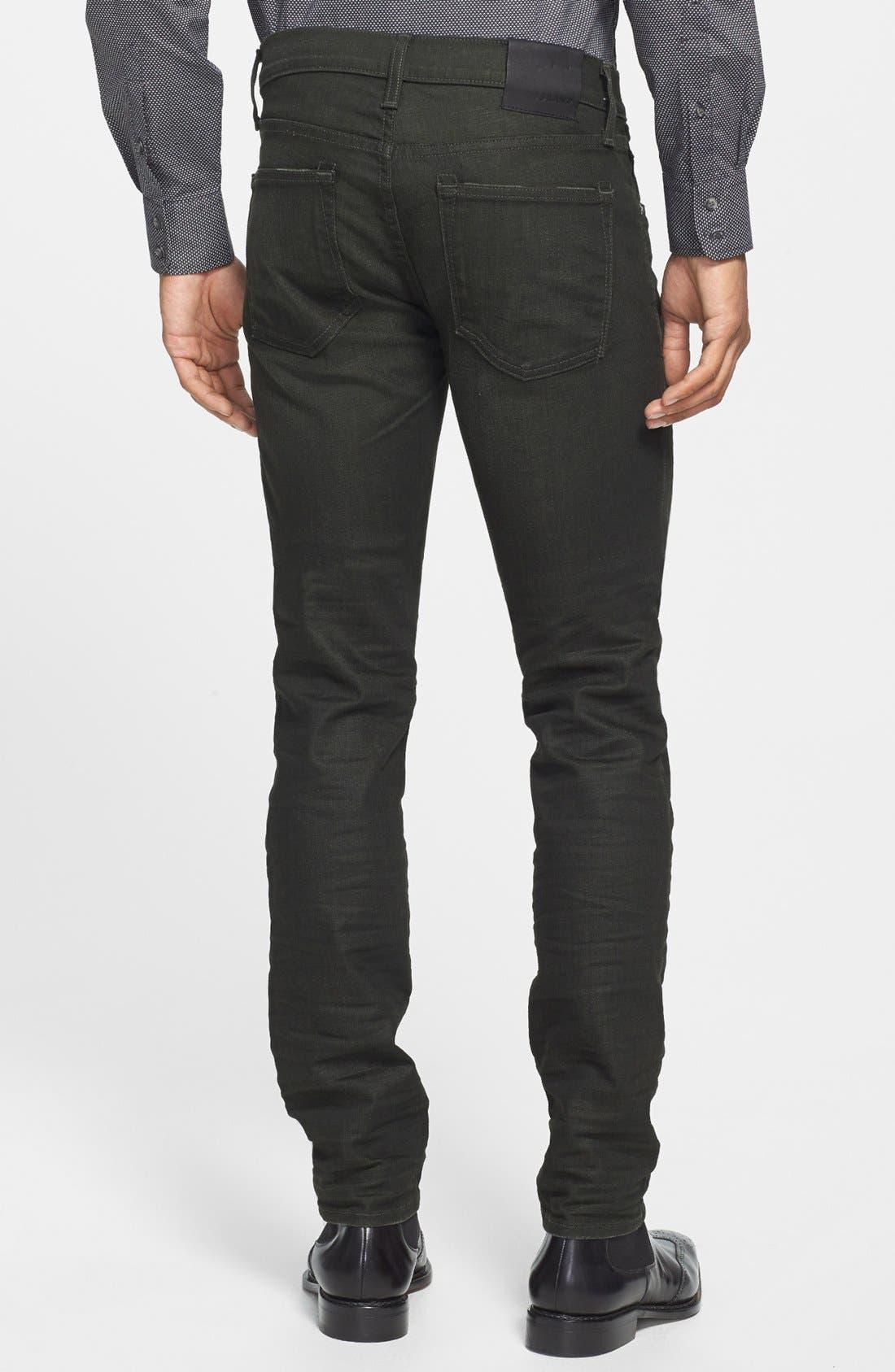 Alternate Image 2  - J Brand 'Mick' Skinny Fit Jeans (Arcane)
