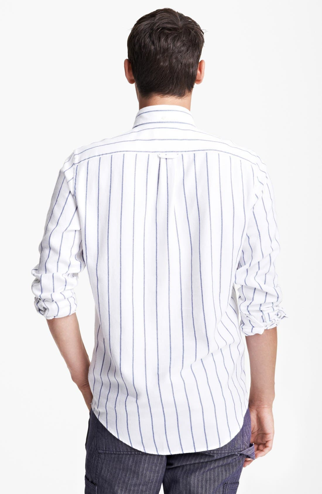 Alternate Image 2  - Gant by Michael Bastian Striped Pullover Flannel