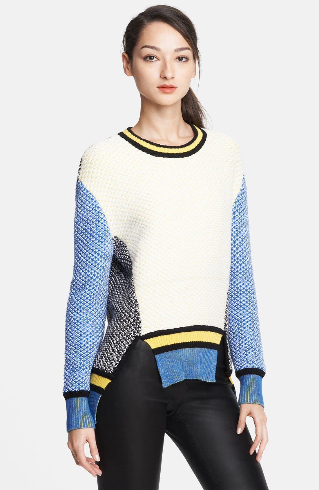 Alternate Image 1 Selected - Prabal Gurung Colorblock Sweater
