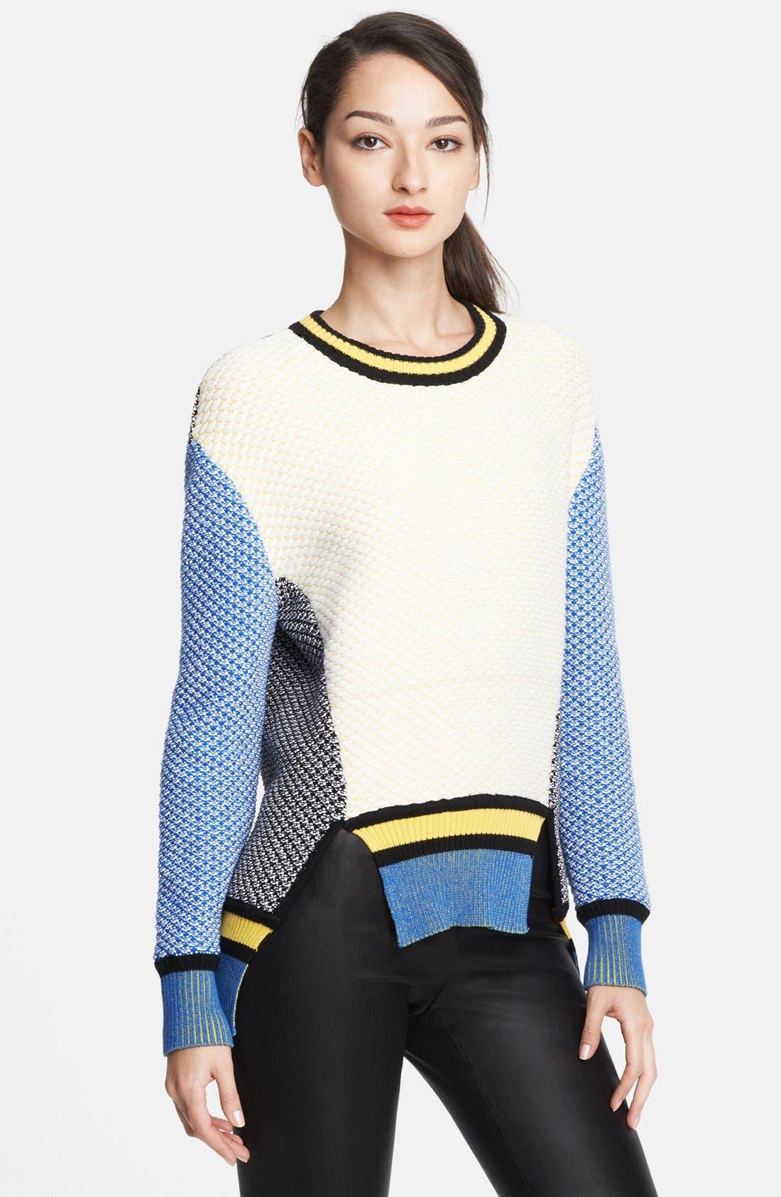 Main Image - Prabal Gurung Colorblock Sweater