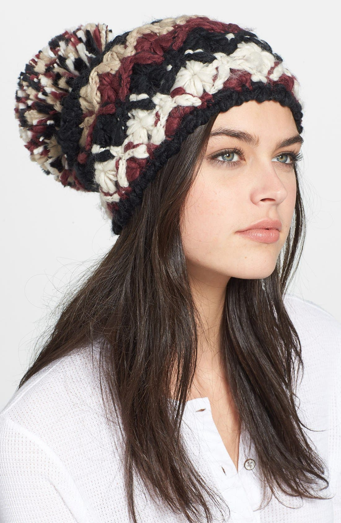 Main Image - Free People Pompom Beanie
