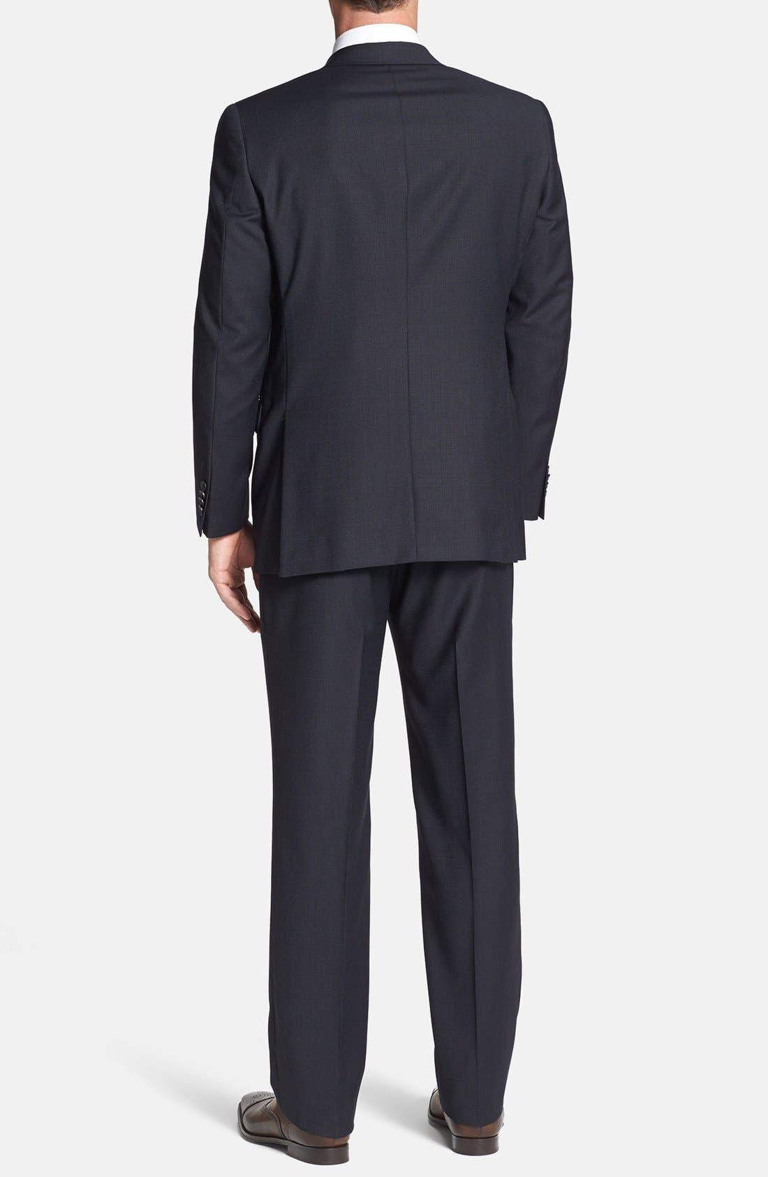 Alternate Image 3  - Hart Schaffner Marx 'New York' Classic Fit Wool Suit