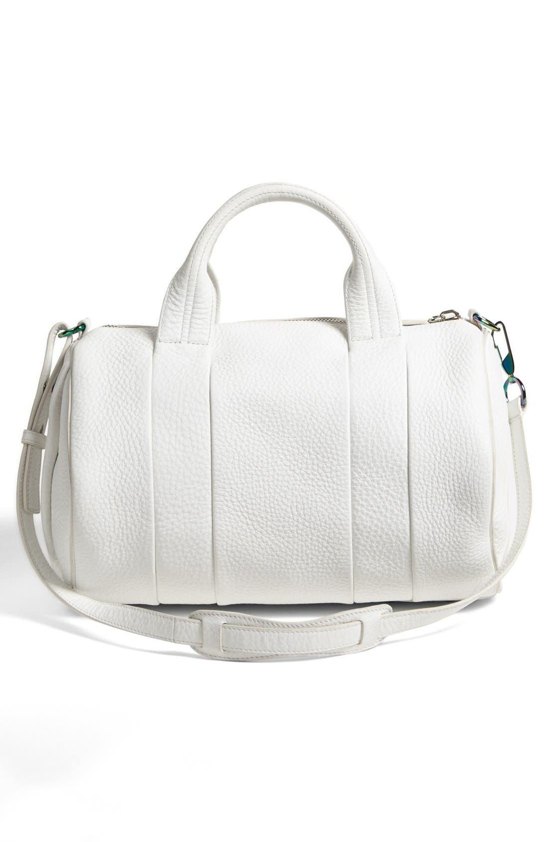 Alternate Image 3  - Alexander Wang 'Rocco - Iridescent' Leather Satchel
