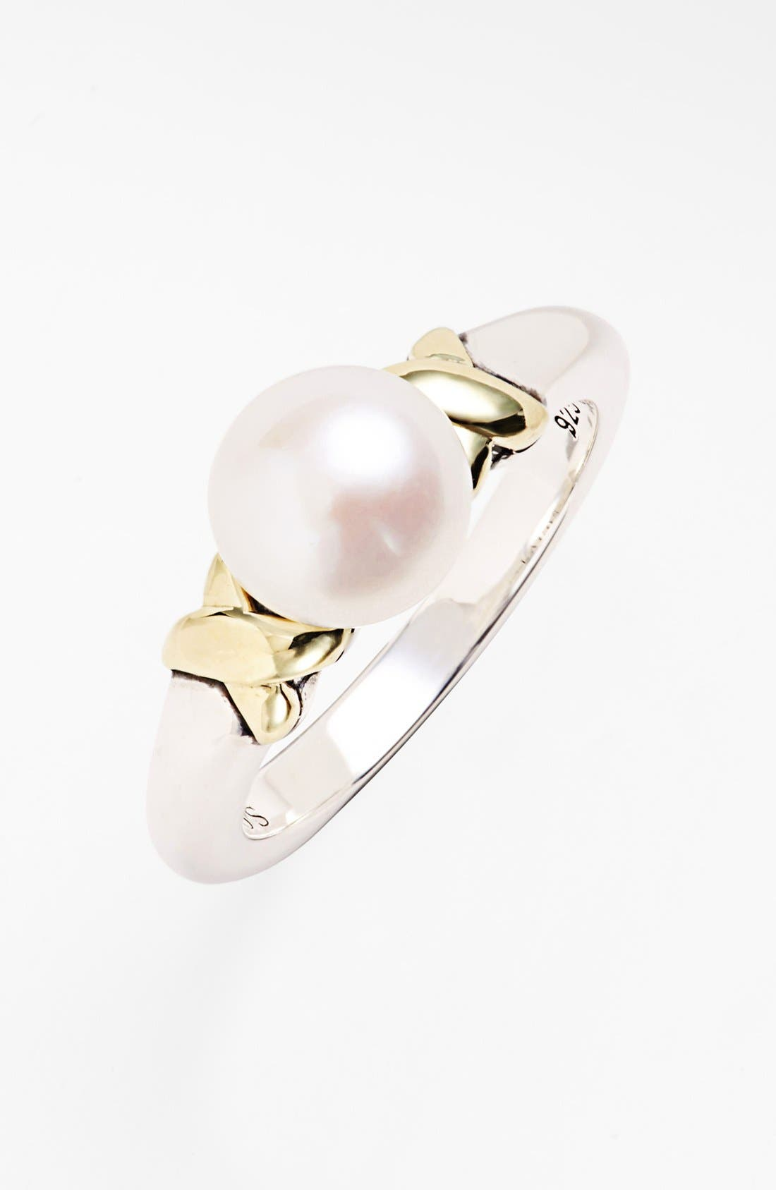 Alternate Image 1 Selected - Lagos 'Luna' Pearl Ring