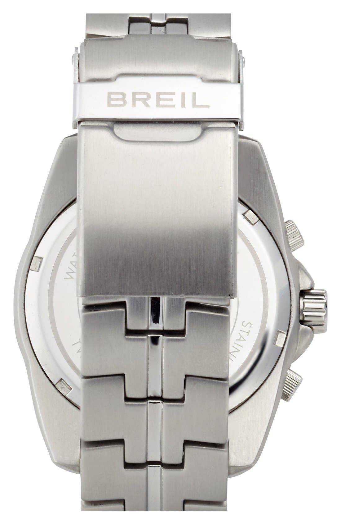 Alternate Image 2  - Breil 'Enclosure' Chronograph Bracelet Watch, 45mm