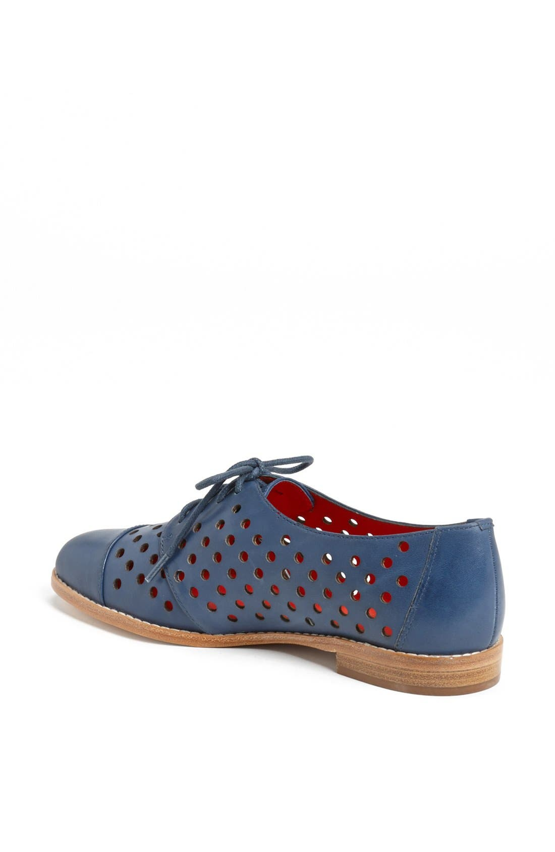 Alternate Image 2  - kate spade new york 'peekaboo' leather oxford