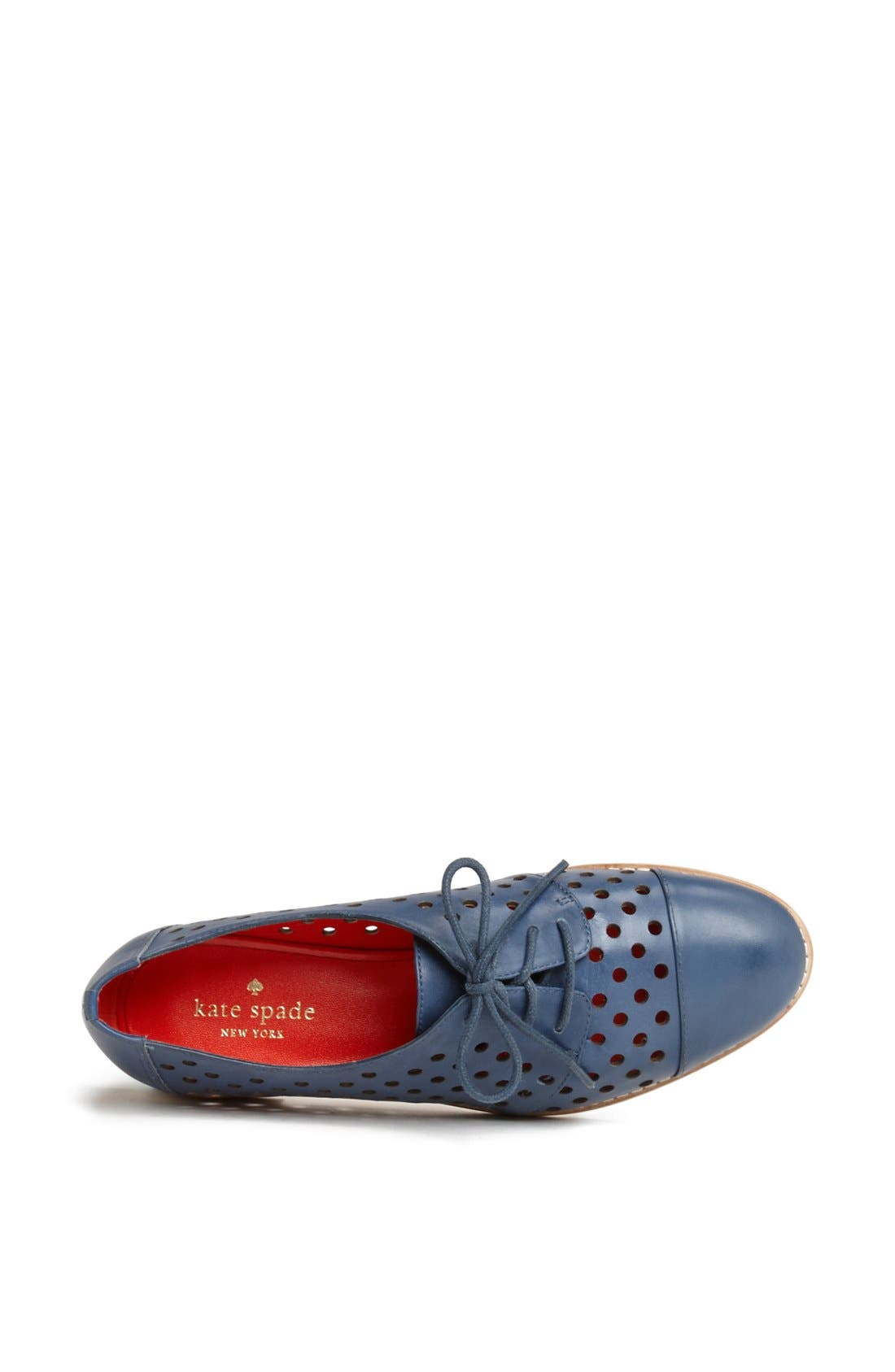 Alternate Image 3  - kate spade new york 'peekaboo' leather oxford
