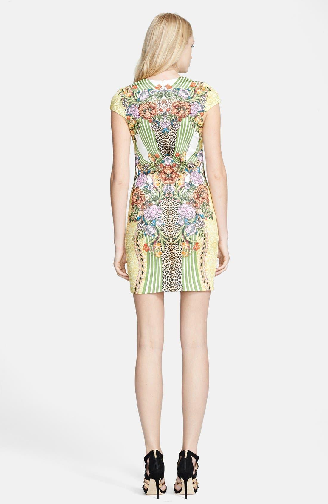 Alternate Image 2  - Just Cavalli Print Ponte Knit Sheath Dress