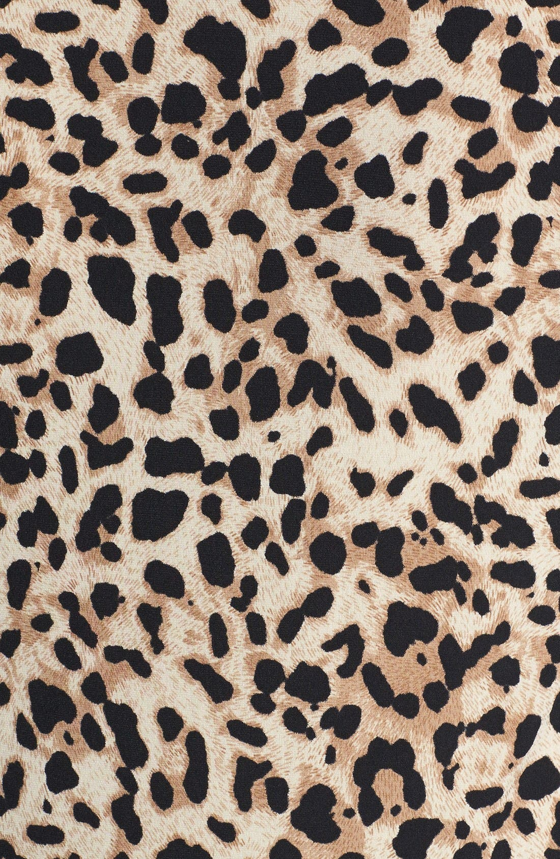 Alternate Image 3  - Vince Camuto Animal Print Faux Wrap Top (Plus Size)
