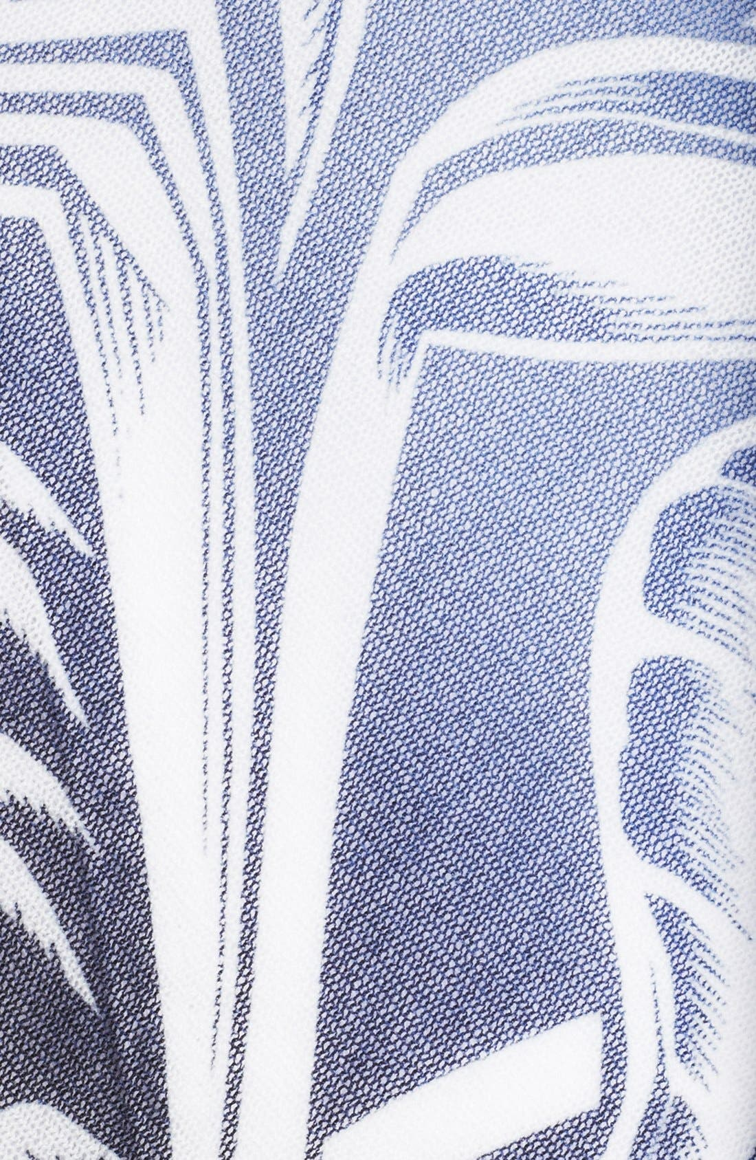 Alternate Image 3  - Jean Paul Gaultier Tahitian Print Convertible Tulle Top