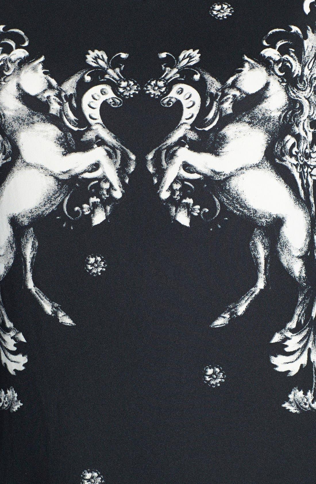 Alternate Image 3  - WAYF Graphic Print Neoprene Sweatshirt