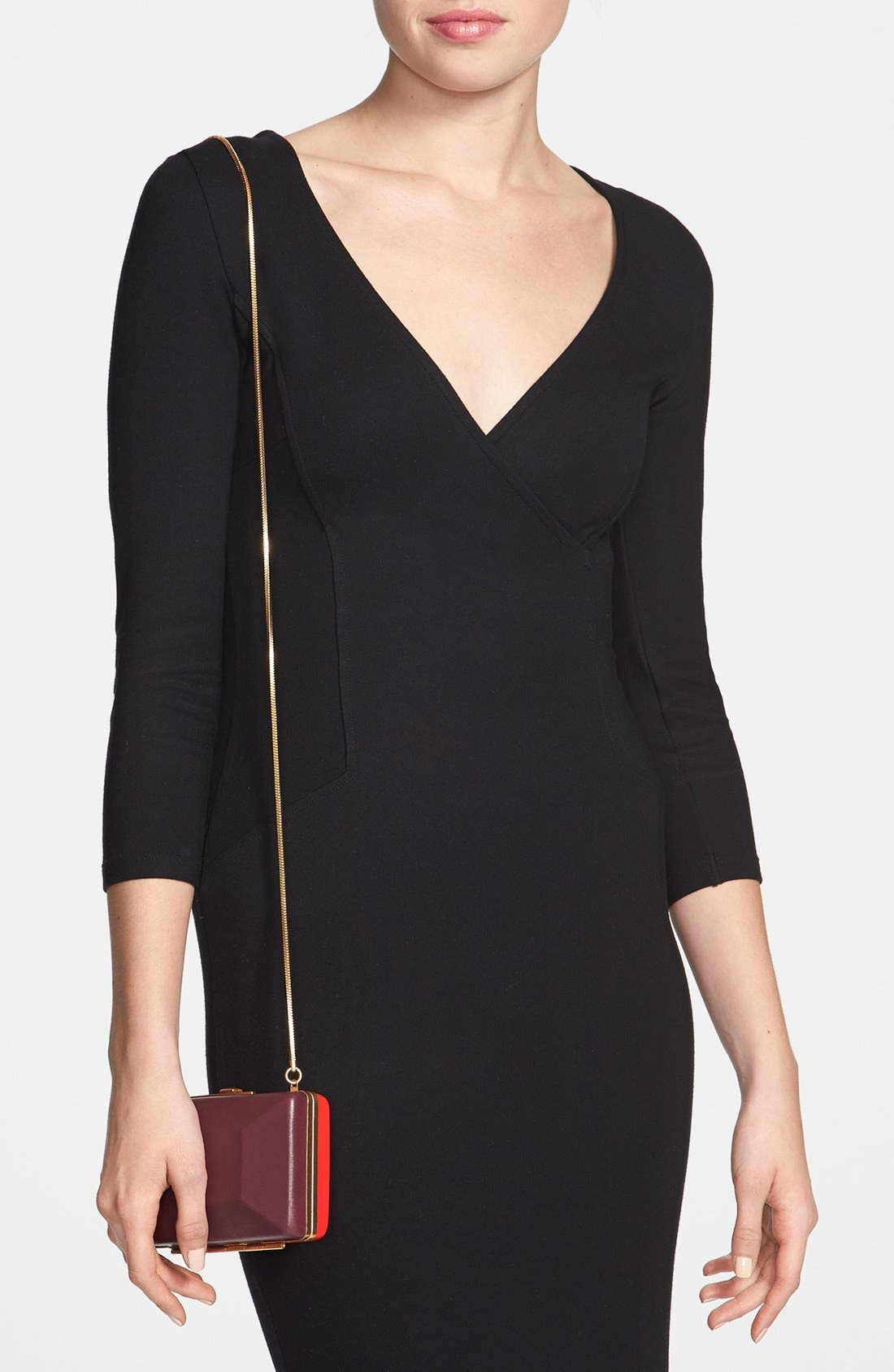 Alternate Image 2  - MARC BY MARC JACOBS 'Box It Up' Colorblock Leather Clutch