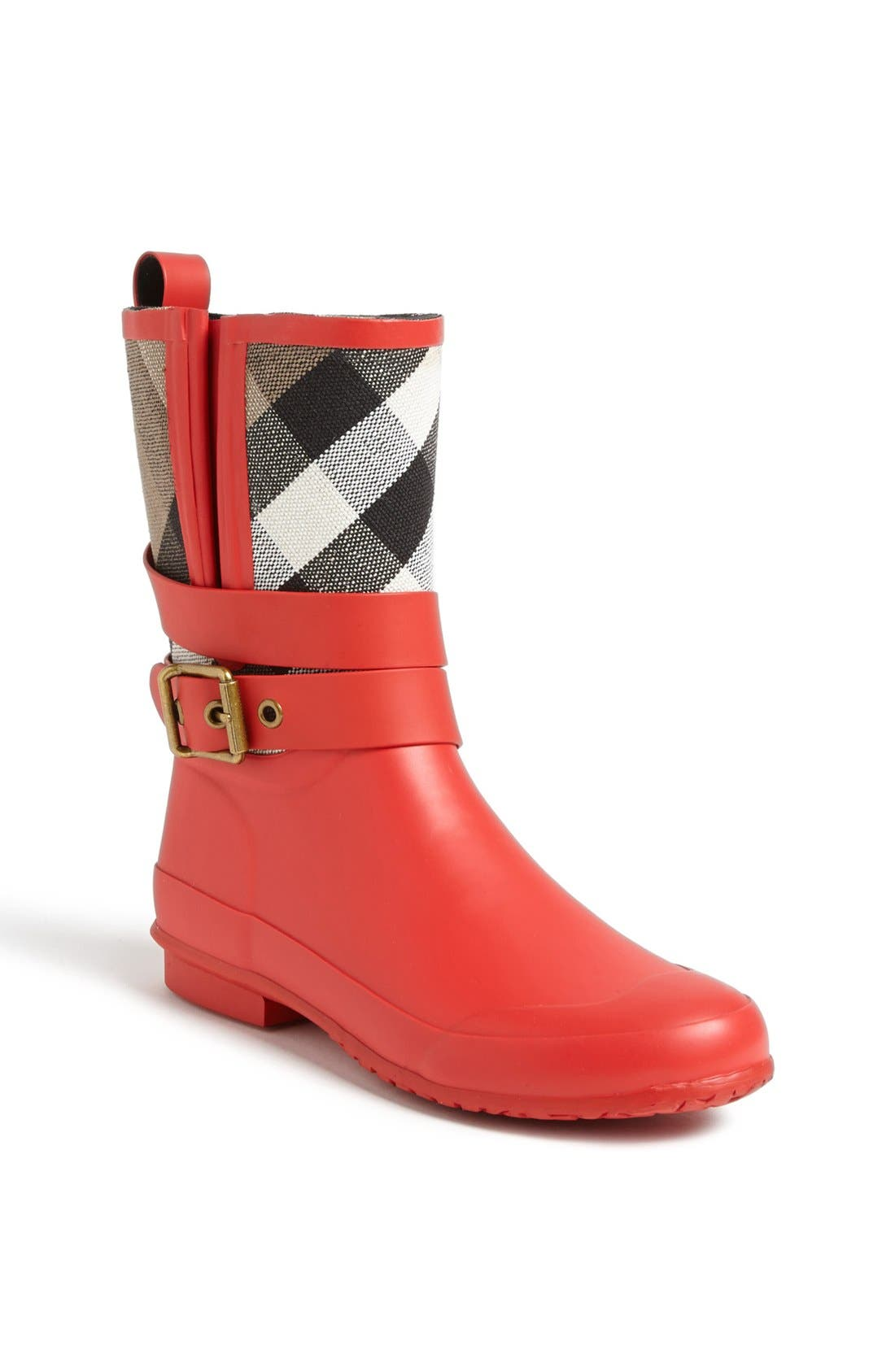 Alternate Image 1 Selected - Burberry 'Holloway' Rain Boot (Women)