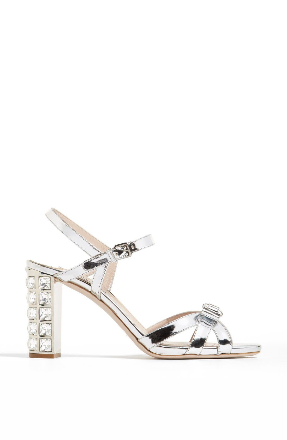 Alternate Image 4  - Miu Miu Bow Ankle Strap Sandal
