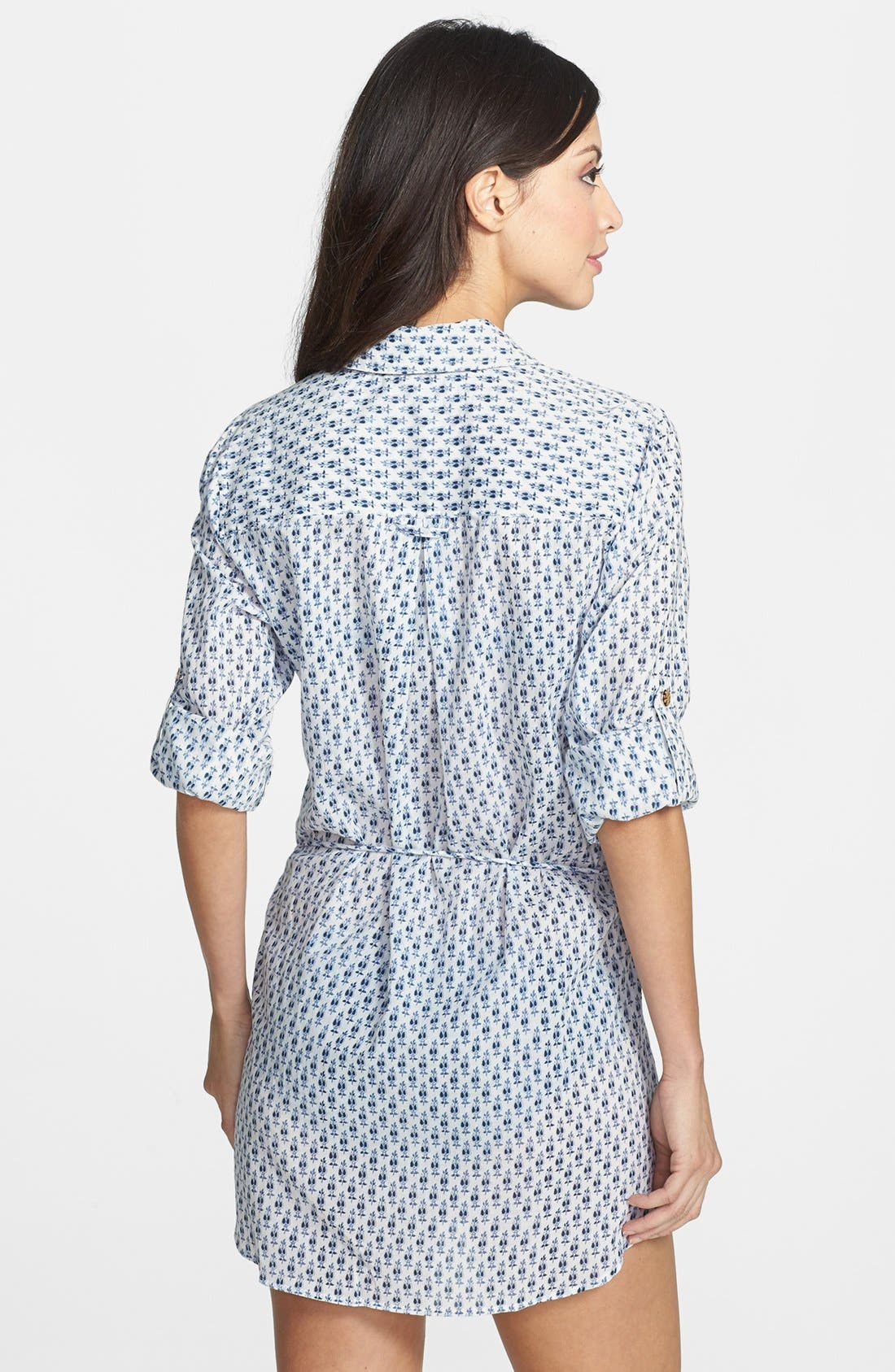 Alternate Image 2  - Tory Burch 'Boria' Belted Tunic Cover-Up