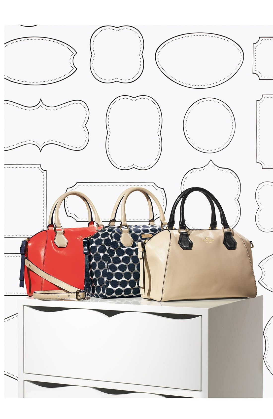 Alternate Image 5  - kate spade new york 'catherine street - pippa' leather satchel