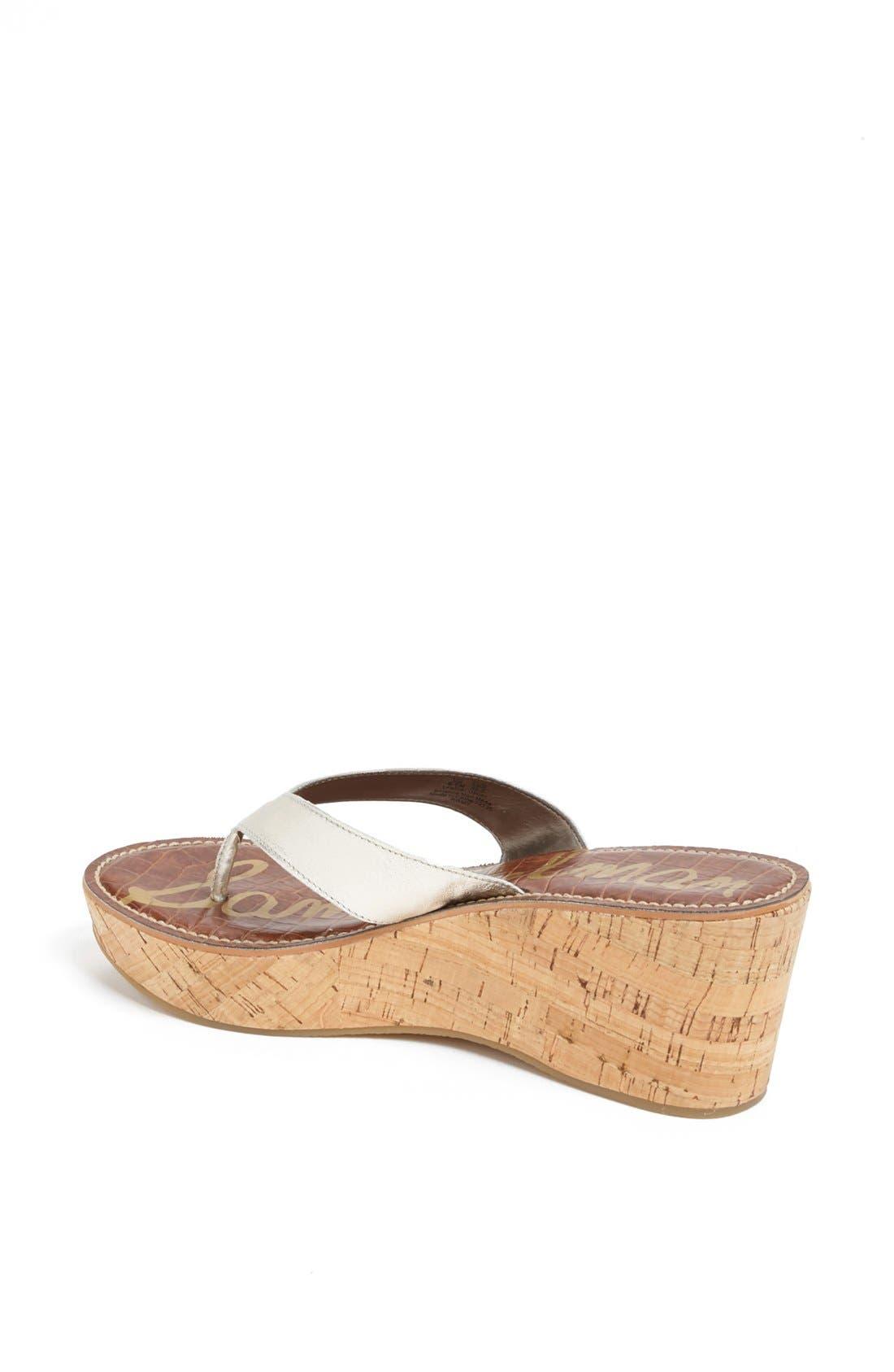 Alternate Image 2  - Sam Edelman 'Romy' Wedge Sandal (Women)