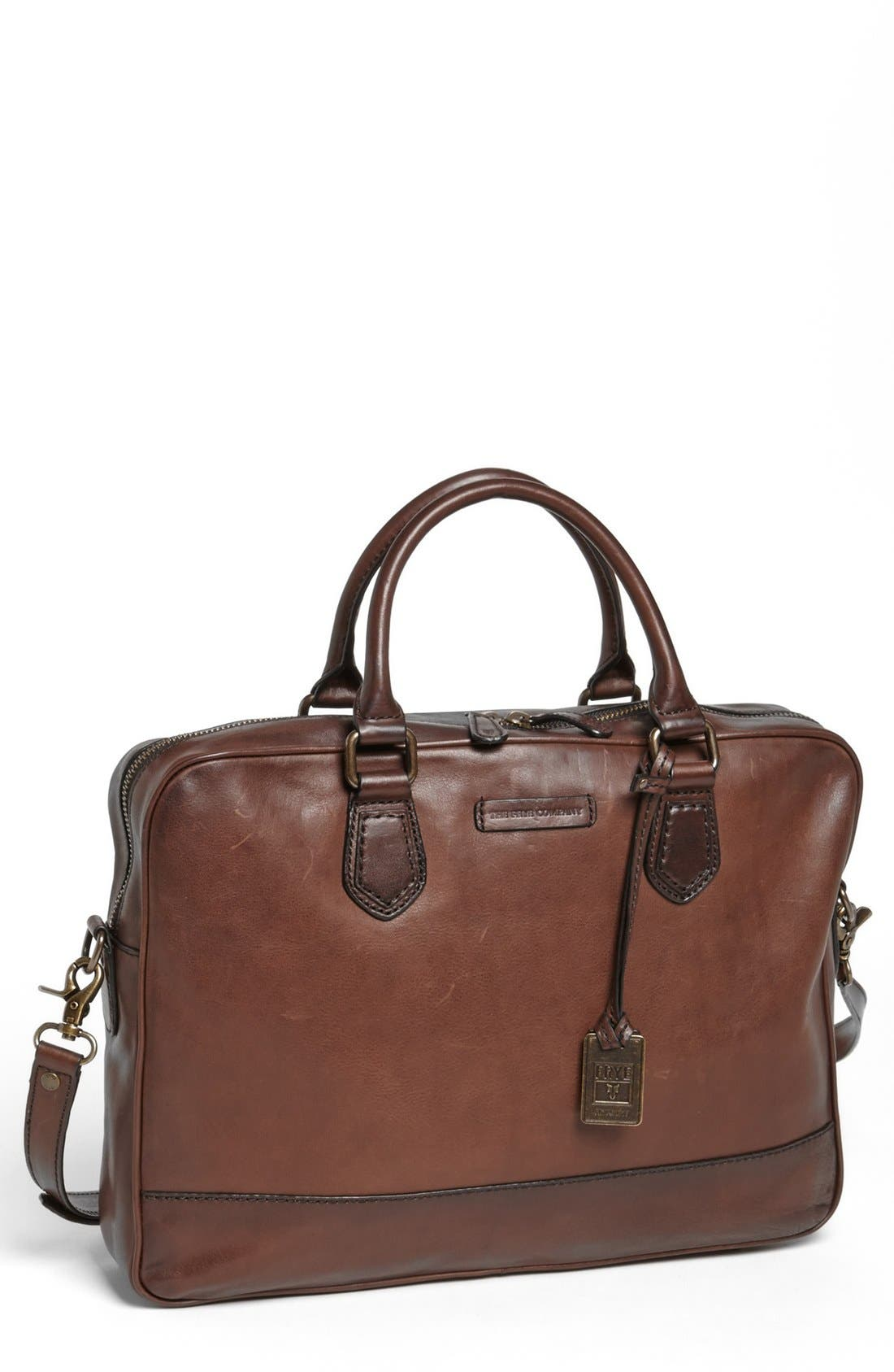 Main Image - Frye 'James' Leather Briefcase
