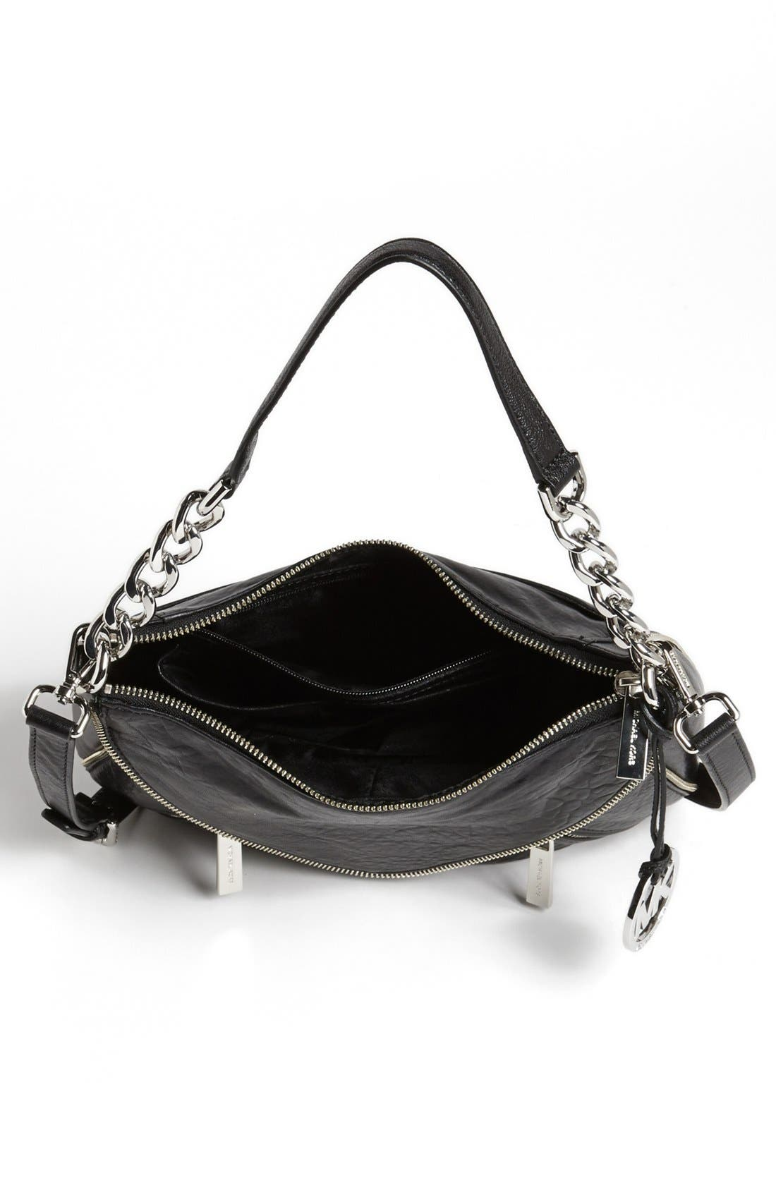 Alternate Image 3  - MICHAEL Michael Kors 'Odette - Medium' Leather Crossbody Bag