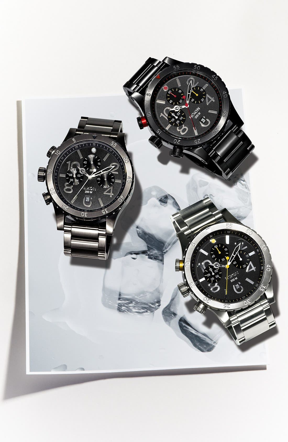 Alternate Image 5  - Nixon 'The 48-20' Chronograph Watch, 48mm