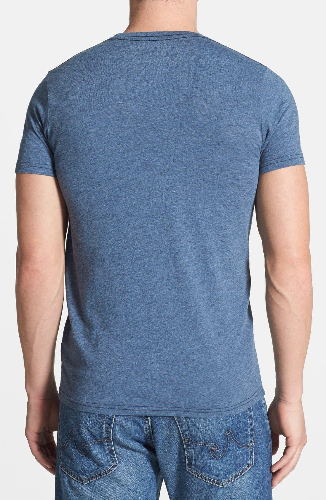 Alternate Image 2  - Retro Brand 'UCLA Bruins' Mélange T-Shirt