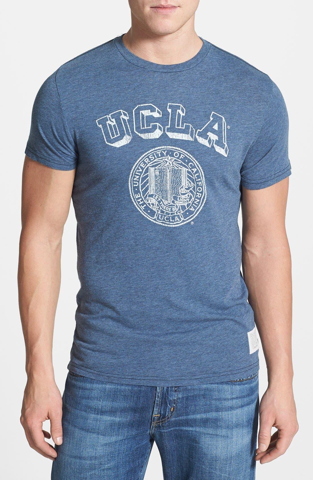Main Image - Retro Brand 'UCLA Bruins' Mélange T-Shirt