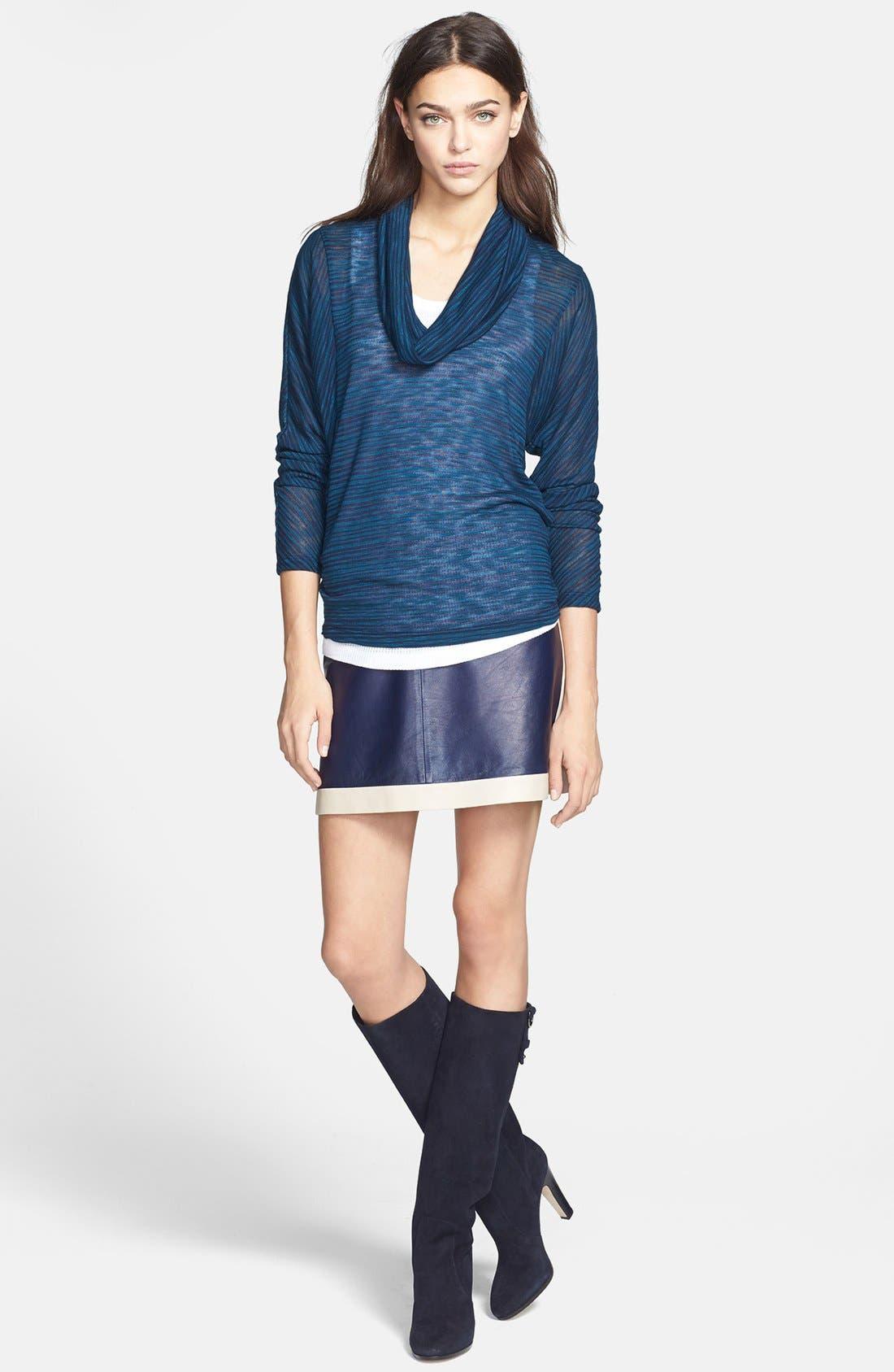 Alternate Image 4  - Splendid Cowl Neck Sweater