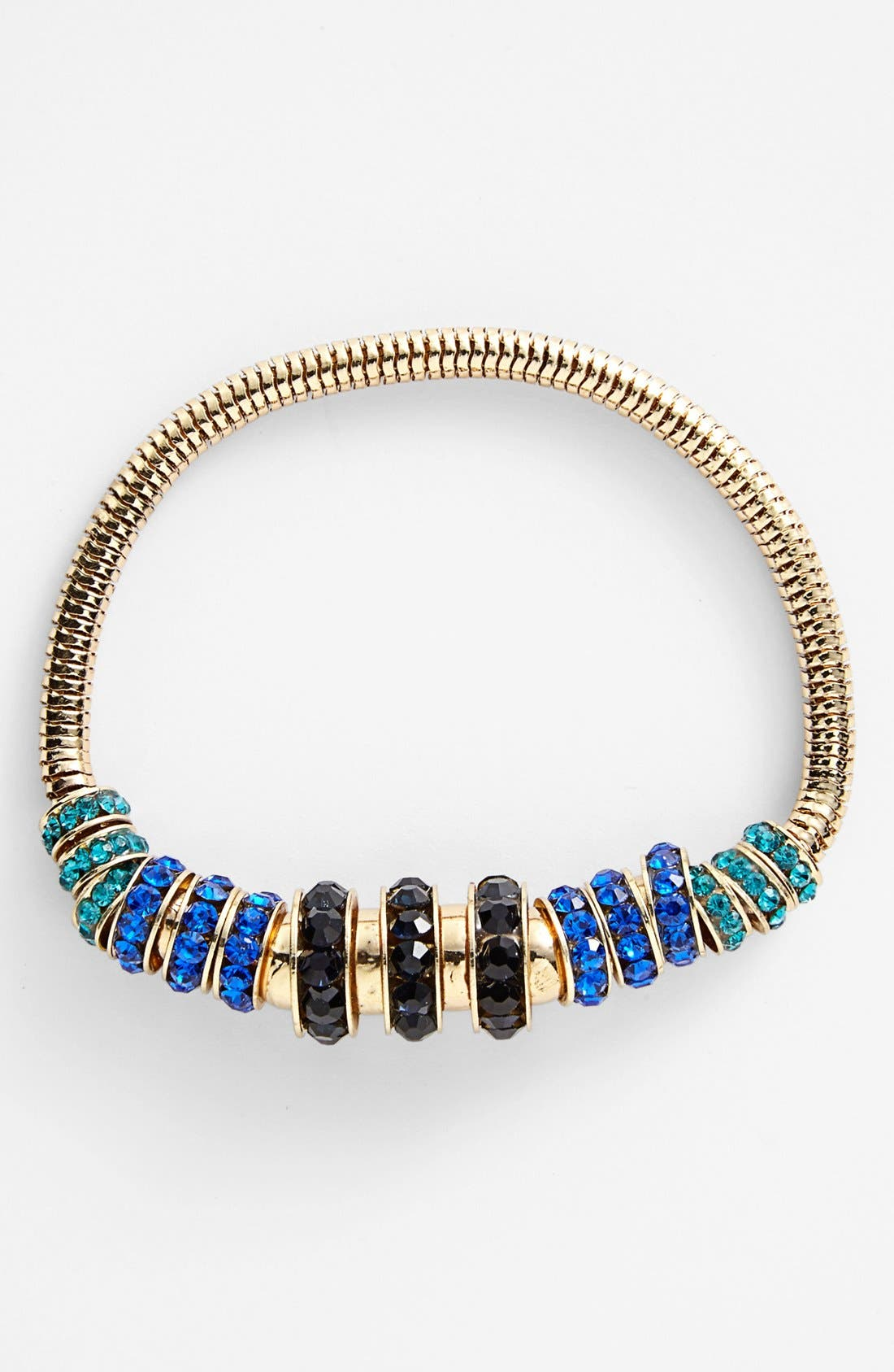Main Image - Anne Klein Beaded Stretch Bracelet
