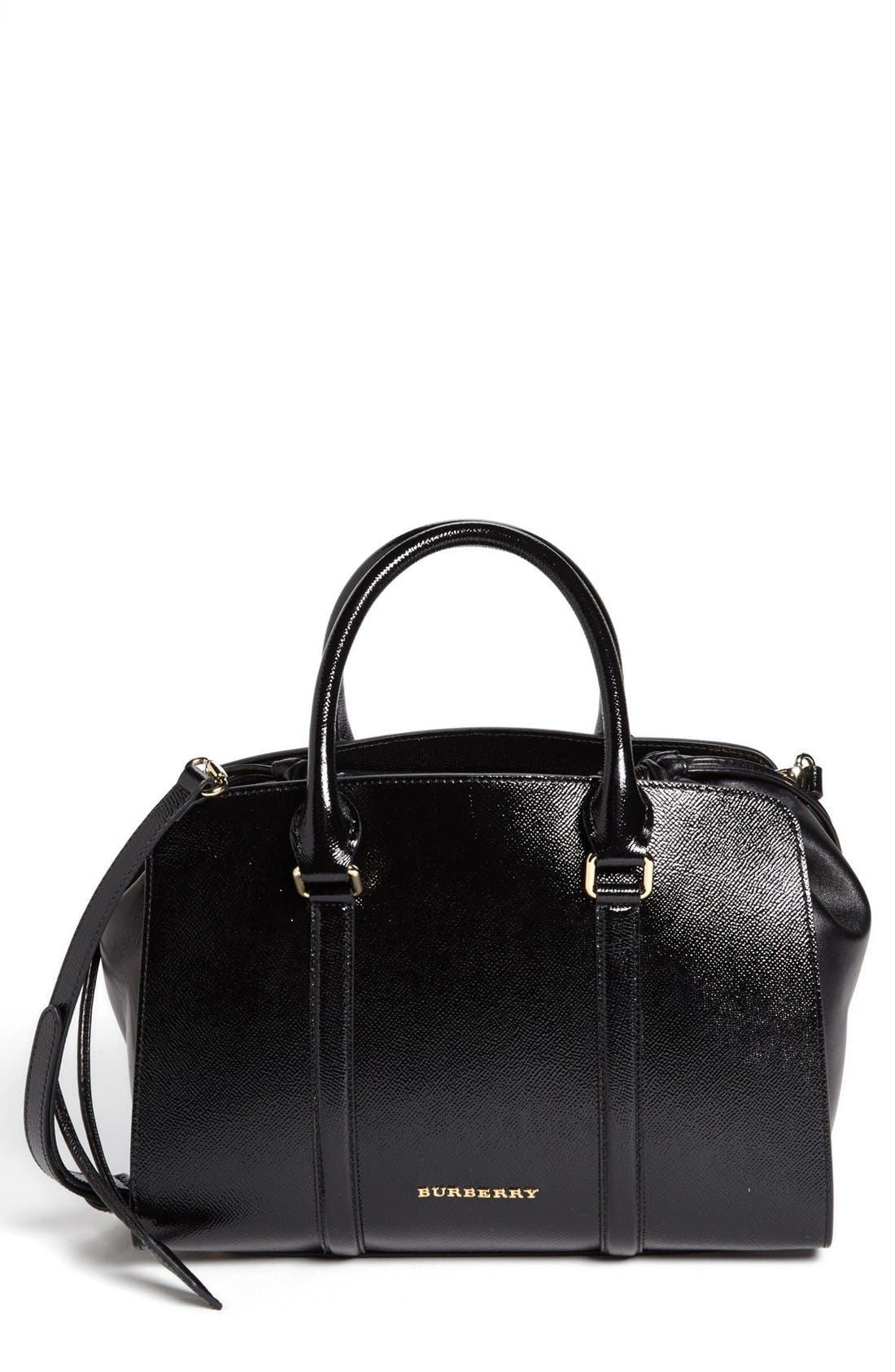 Main Image - Burberry Prorsum 'Small Dinton' Leather Satchel
