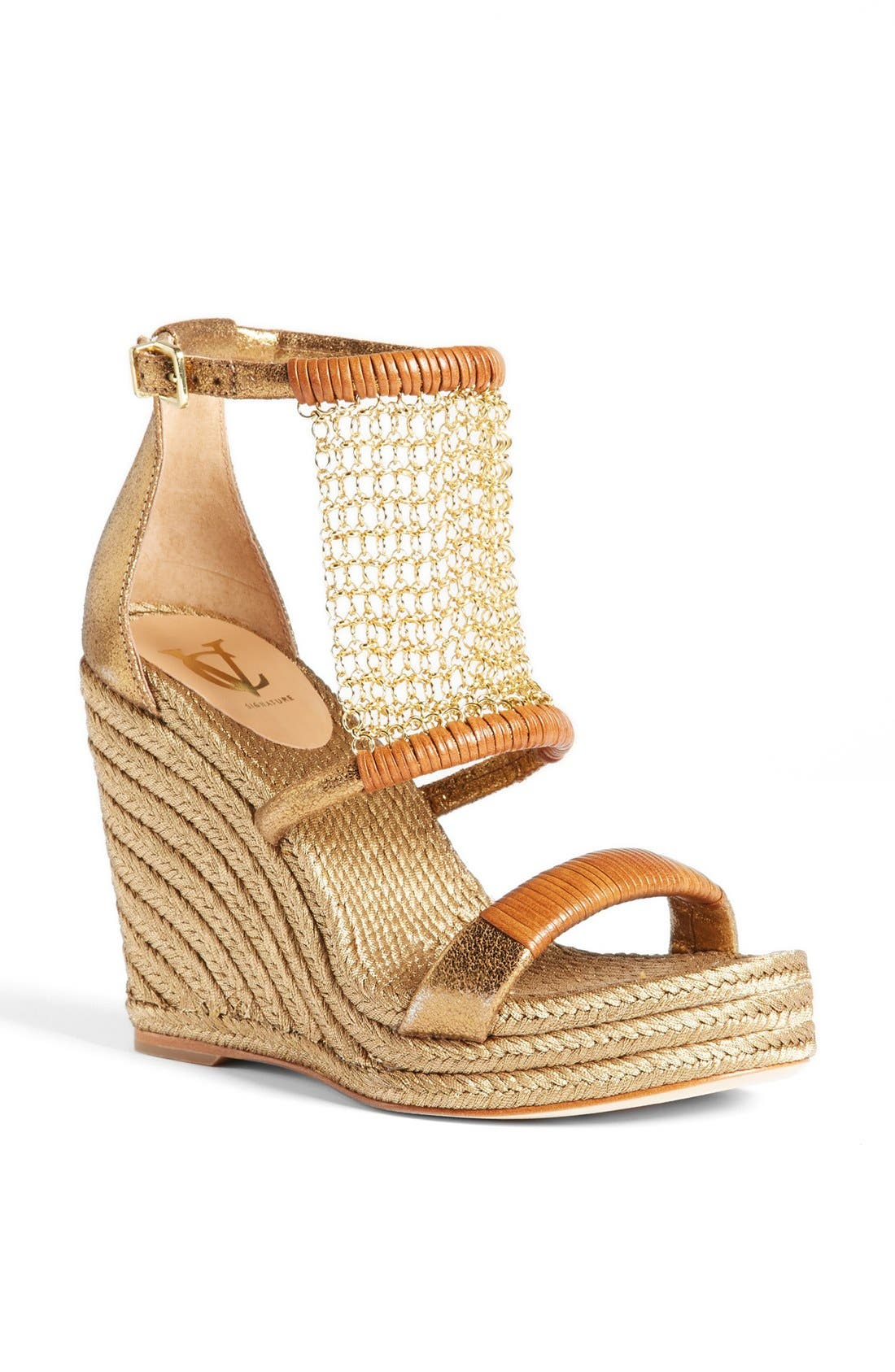 Alternate Image 1 Selected - VC Signature 'Dellah' Wedge Sandal