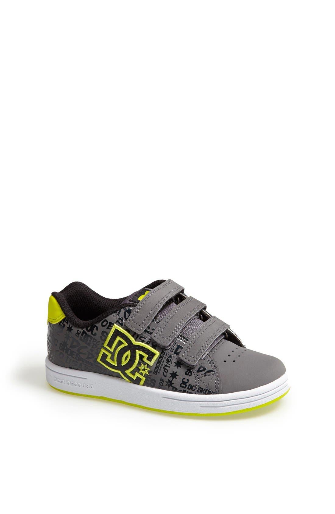 Alternate Image 1 Selected - DC Shoes 'Character V' Sneaker (Toddler & Little Kid)