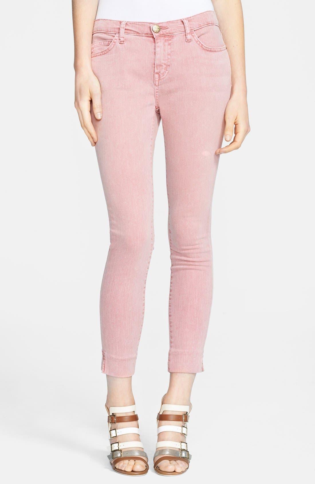 Main Image - Current/Elliott 'The Side Slit Stiletto' Jeans
