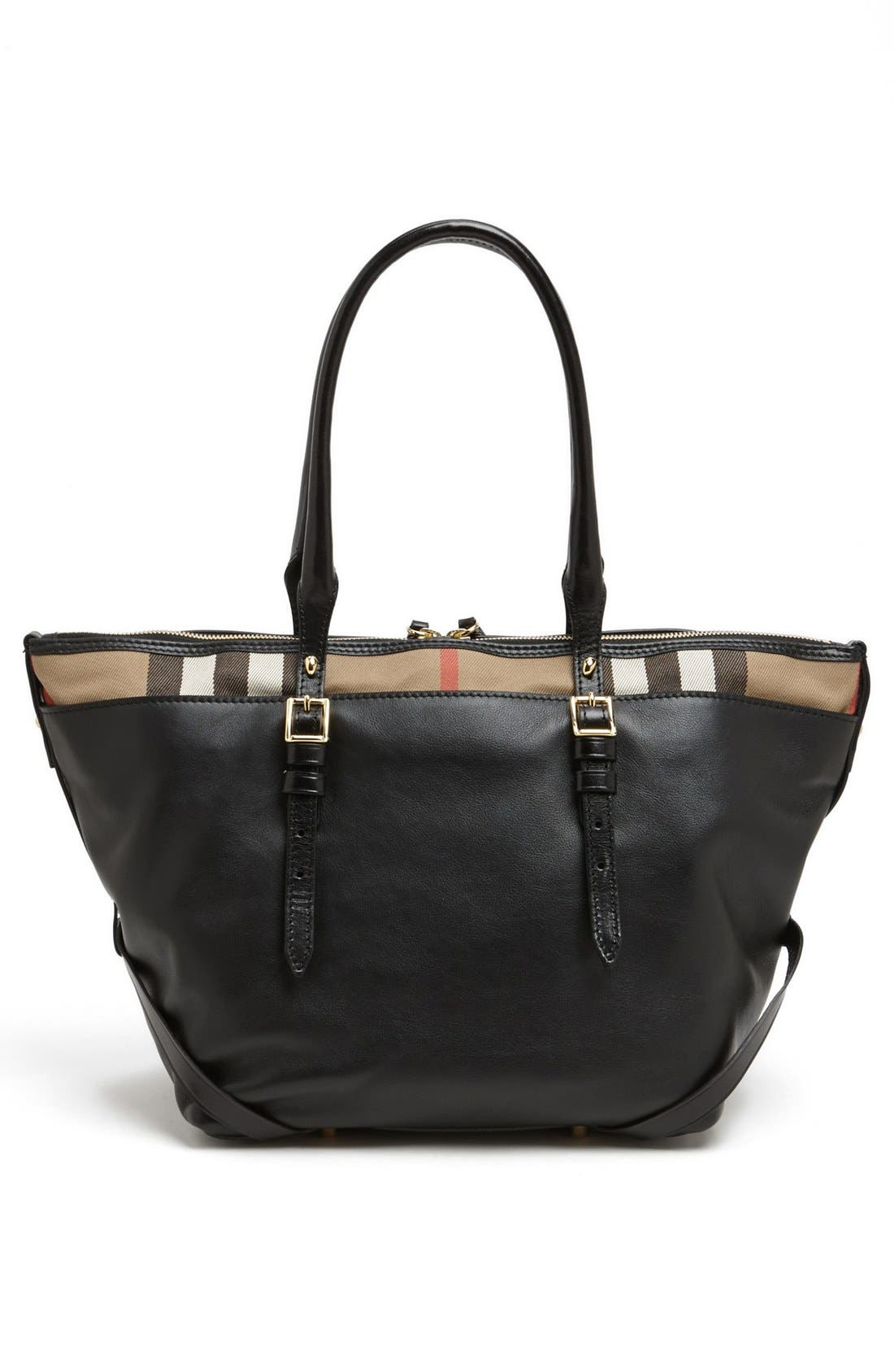 Alternate Image 4  - Burberry 'Small Salisbury' Leather Over Shoulder Tote