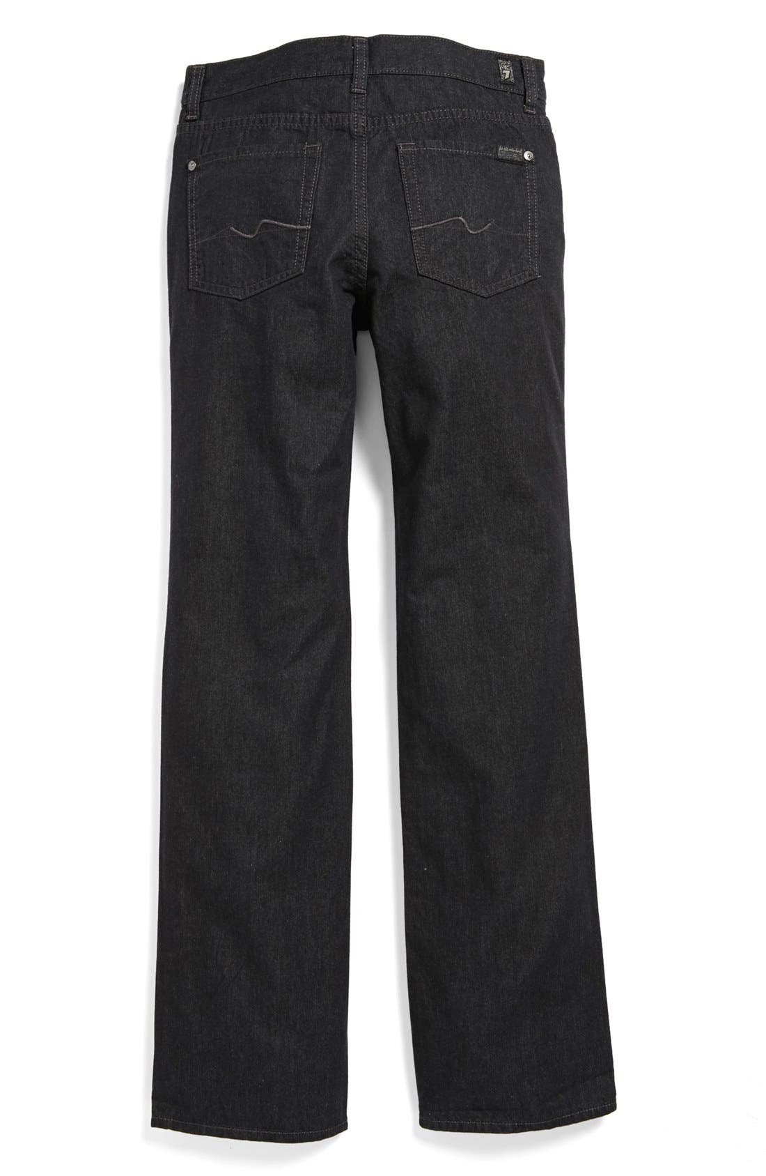 Main Image - 7 For All Mankind® 'Standard' Straight Leg Jeans (Big Boys)