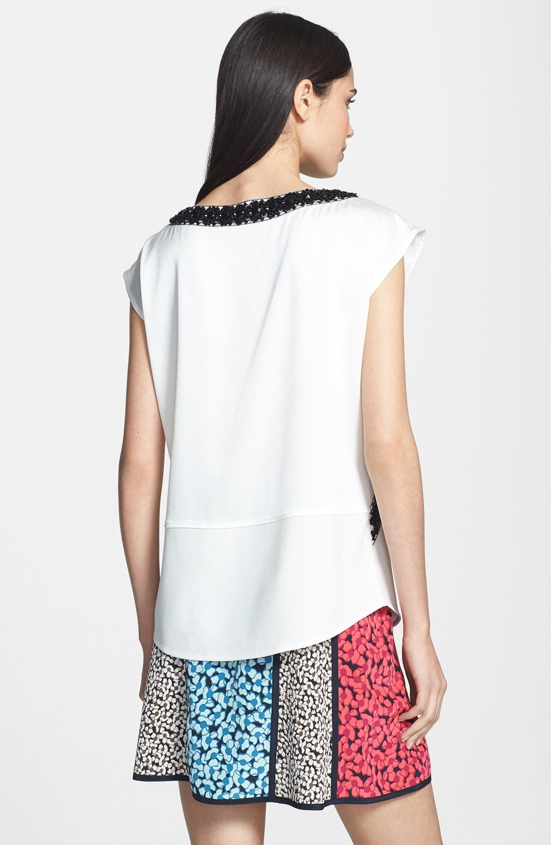 Alternate Image 2  - MARC BY MARC JACOBS 'Kisa' Embroidered Silk Top