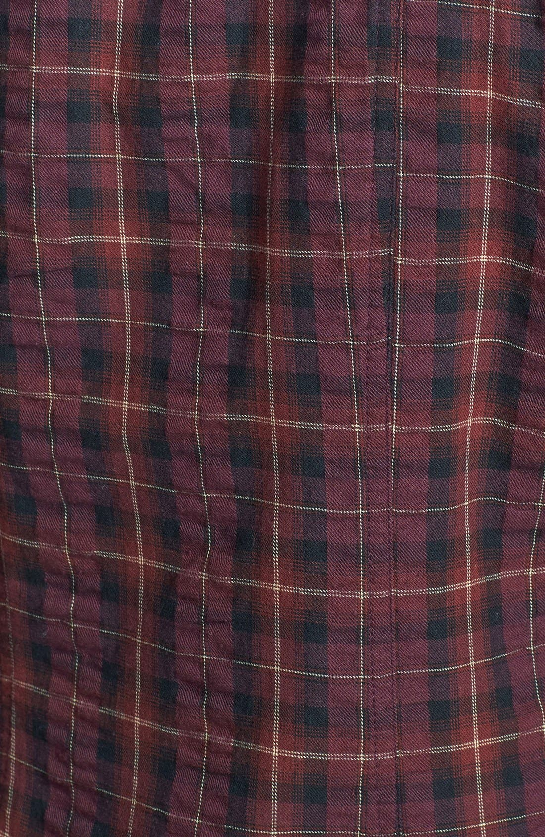Alternate Image 3  - Sandra Ingrish Brushed Twill Tartan Shirt